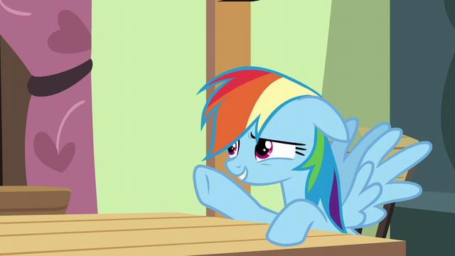 File:Rainbow Dash just remembering something S6E11.png
