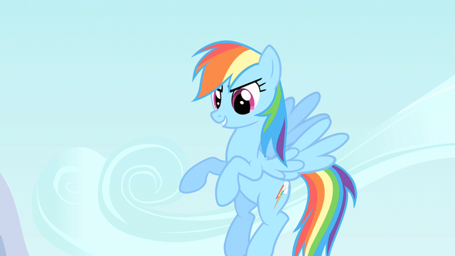 File:Rainbow Dash reinforcing the elements of a good cheer S1E16.png