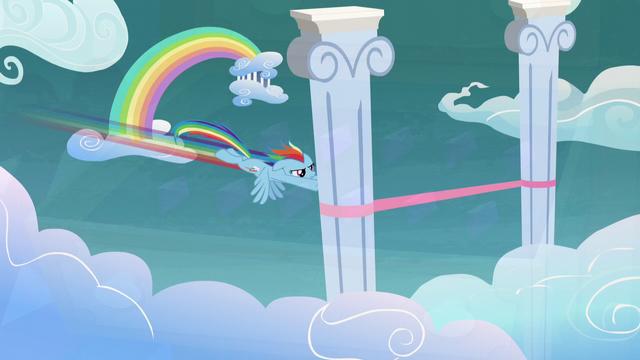 File:Rainbow Dash wins a race S5E3.png