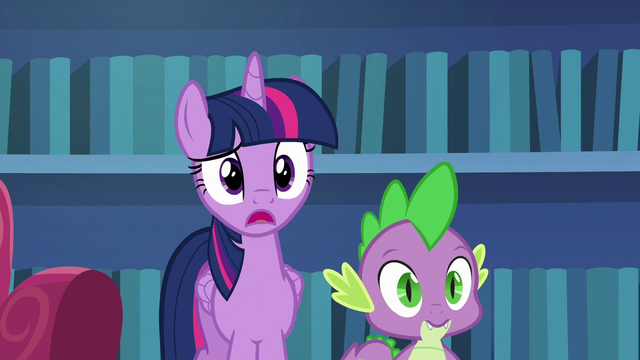 """File:Twilight Sparkle """"baking a cake freaks you out?"""" S6E21.png"""