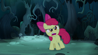 "Apple Bloom ""all right, whoever you are!"" S5E4"