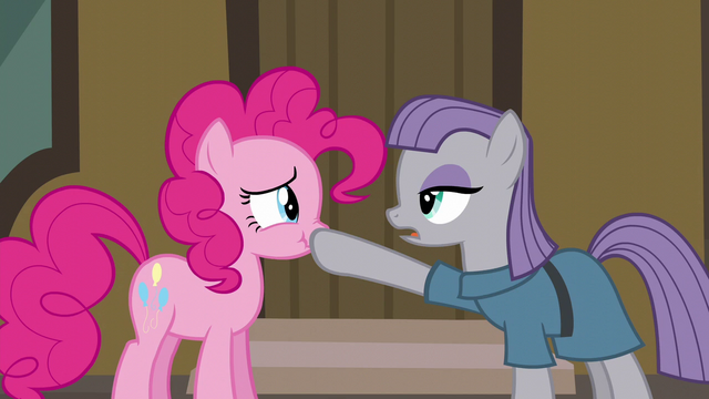 "File:Maud Pie ""gift giving isn't a competition"" S6E3.png"