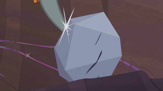 File:Pinkie's pickax strikes the rock S5E20.png