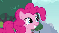 "Pinkie Pie smiling ""really?"" S4E12"