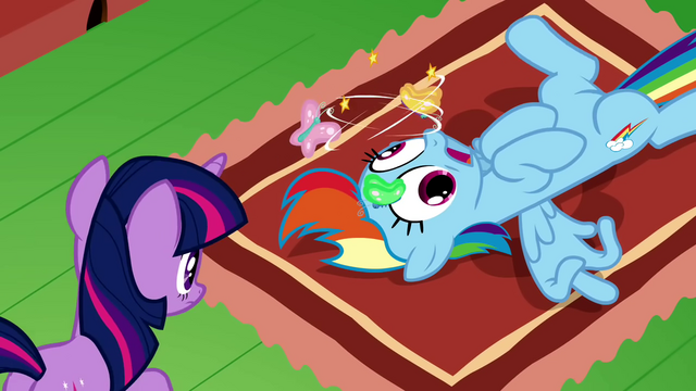 File:Rainbow Dash dazed 1 S2E21.png