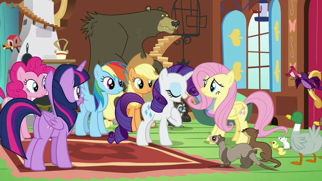 """File:Rarity """"helped me when I was setting up"""" S7E5.png"""