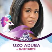Uzo Aduba as Queen Novo