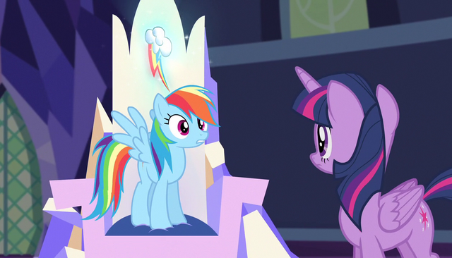 """File:Rainbow """"been over it like a million times"""" S5E1.png"""