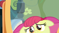 Apple Bloom fearful of her reflection S5E4
