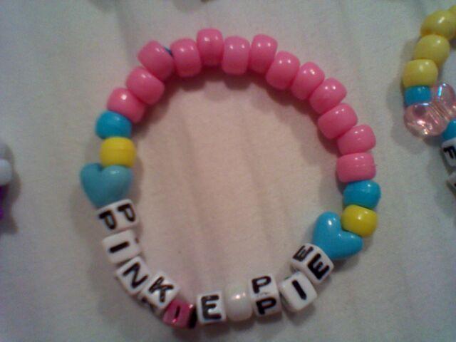 File:FANMADE Pinkie Pie bracelet.jpg