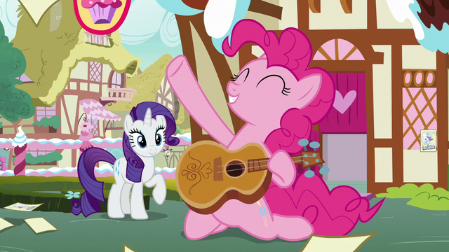 File:Pinkie Pie does a power slide with acoustic guitar S7E9.png