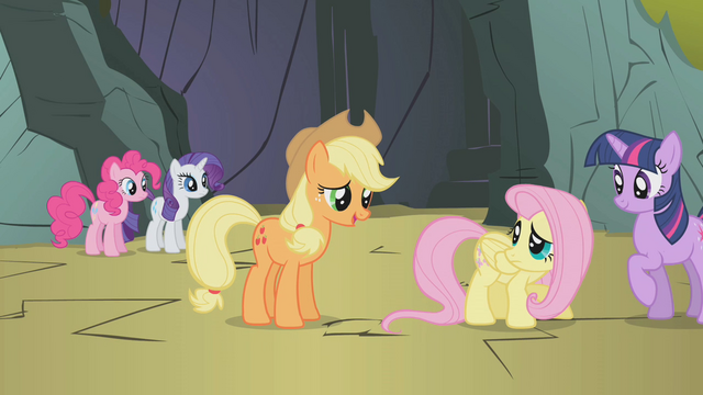 "File:Applejack ""all of us are scared"" S1E07.png"