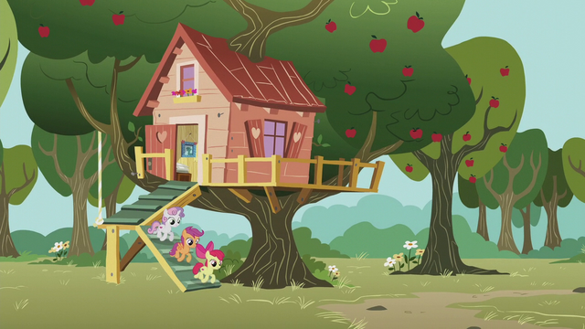 File:CMC come out of their clubhouse S5E18.png