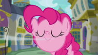 Pinkie Pie sniffing near the screen S6E12