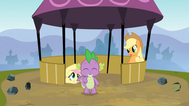 File:Rainbow Dash Topples the Tower 7 S3E09.png