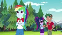 Rainbow Dash getting impatient EG4