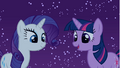 Rarity and Twilight looking at Spike S1E24.png