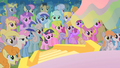 The crowd watching the Summer Sun Celebration S1E23.png