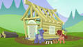 Hooffield and McColt stallions build a house together S5E23.png