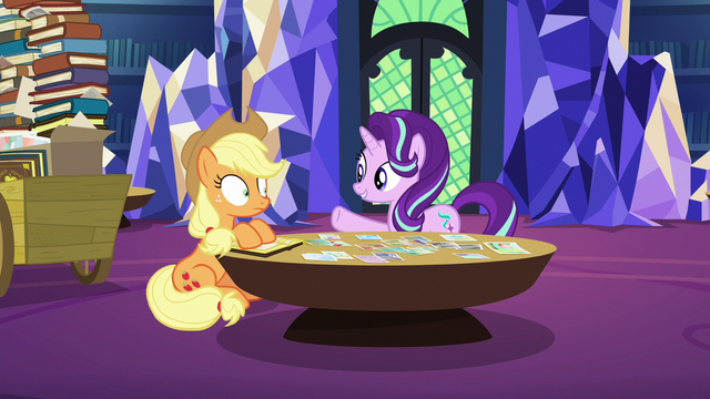 "File:Starlight Glimmer ""give me more highlights"" S6E21.png"