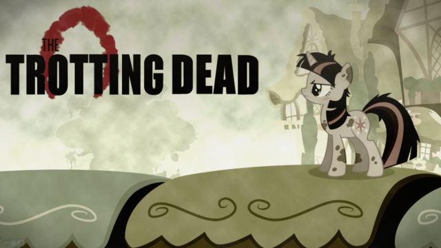 File:FANMADE Trotting Dead Twilight Sparkle.png