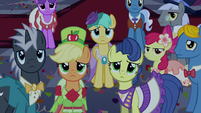 Gala ponies not laughing S5E7
