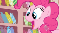 Pinkie Pie about to feed babies S2E13