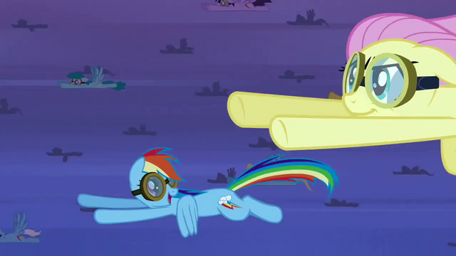 File:Rainbow Dash happy to see Fluttershy S2E22.png