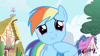 Rainbow Dash snickers S1E01