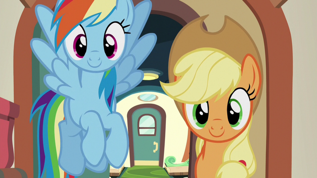 File:Rainbow and AJ walk into the luggage car S6E18.png
