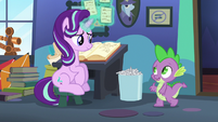 """Spike """"checking to see if you need anything"""" S6E21"""