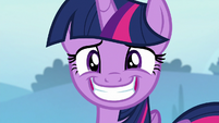 Twilight Sparkle's eye twitching S6E25