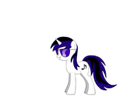 FANMADE Enigmatic Brony with sunglasses