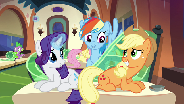 """File:Rainbow """"get something for each other"""" S4E22.png"""