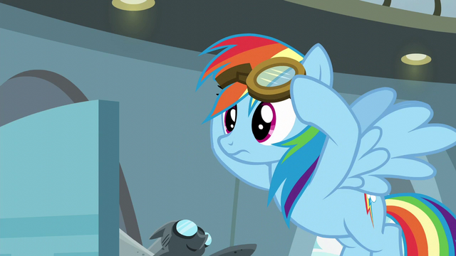 File:Rainbow Dash listening to Twilight S6E7.png