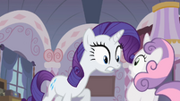 "Rarity ""What did you do' 2 S2E05"