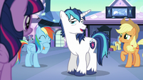 """Shining Armor """"though we have met before"""" S6E1"""