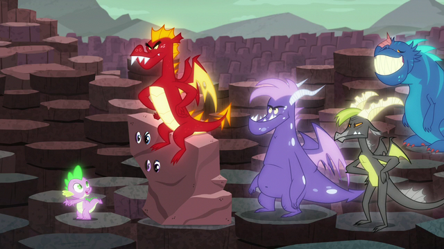 """File:Spike """"No, next to him"""" S6E5.png"""