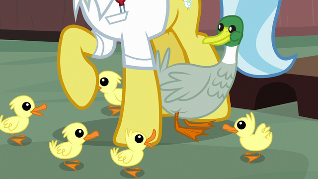 File:Duck and ducklings around Dr. Fauna's hooves S7E5.png