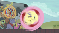 Fluttershy's patented spin move S6E18