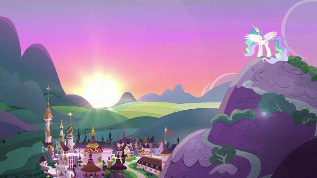 File:Princess Celestia lowering the sun S7E1.png