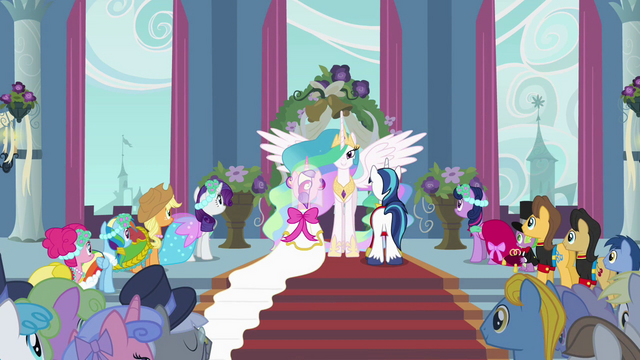 File:Celestia with Cadance and Shining Armor S2E26.png