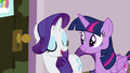 "Rarity ""going to start with a facial"" S7E2.png"