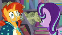 Sunburst a little shocked S6E2