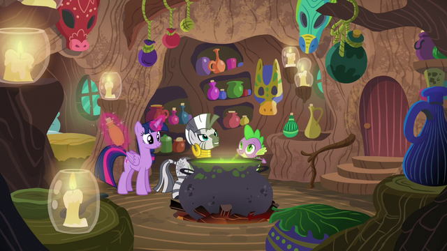 File:Wide view of Zecora's hut S5E22.png