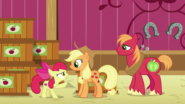 """File:Apple Bloom """"never told a lie in your whole life!"""" S6E23.png"""