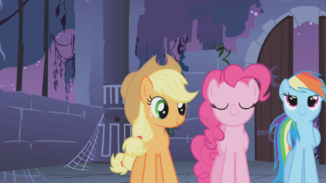"File:Applejack ""Isn't this what you've been waiting for"" S1E02.png"