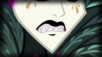 Close-up on Gaea Everfree's teeth EG4
