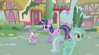 Lyra Heartstrings earnest expression S1E06