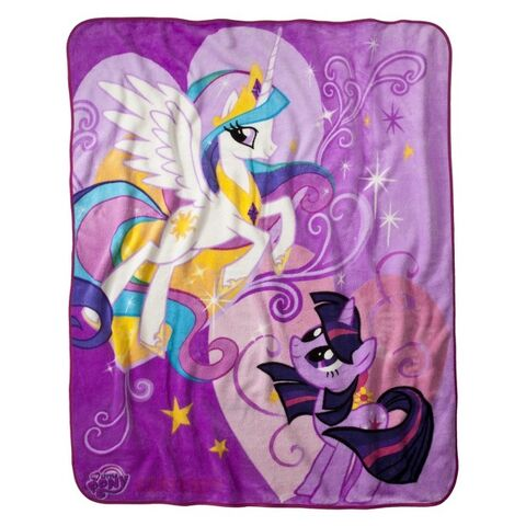 File:Princess Celestia and Twilight bed cover.jpg